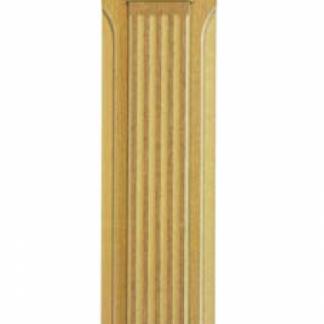 RS7113 Пилястра Инфинити 2276*147 МДФ в дубовой текстуре, с декоративным элементом из древесины