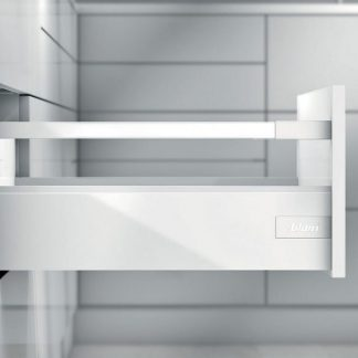 TANDEMBOX antaro L500 H115 с 1 релингом D, белый шелк