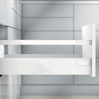 TANDEMBOX antaro L350 H83 с 1 релингом С, белый шелк