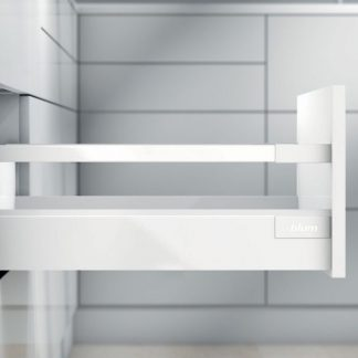 TANDEMBOX antaro L400 H83 с 1 релингом С, белый шелк