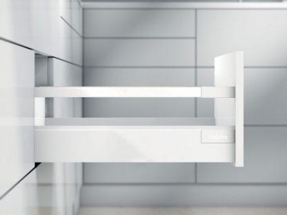 TANDEMBOX antaro L500 H83 с 1 релингом С, белый шелк