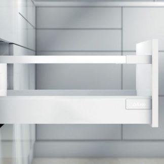 TANDEMBOX antaro L450 H83 с 1 релингом D, белый шелк