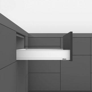 LEGRABOX pure 40кг L400 H91 высота M, белый шелк