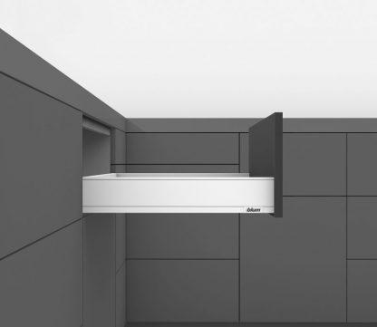 LEGRABOX pure 40кг L500 H91 высота M, белый шелк