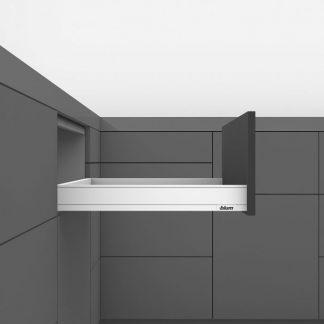 LEGRABOX pure 40кг L500 H67 высота N, белый шелк