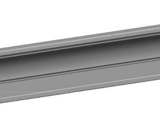 RS142 Карниз верхний МДФ в шпоне ясеня 3660*123,5*32,2
